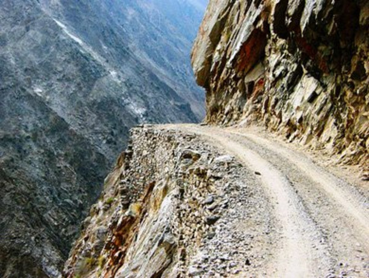 Killar to Pangi Road via Kishtwar