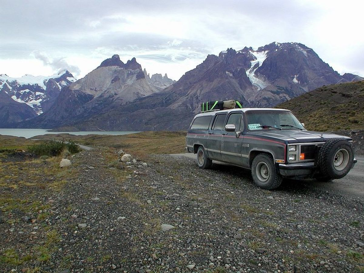 Pan American Highway in Chile