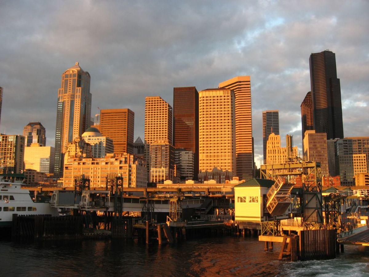 From the Bremerton ferry, you get a view of Seattle that you won't get anywhere else.