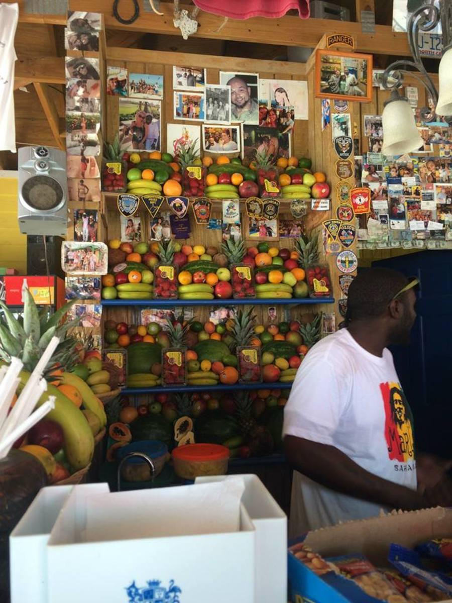 Fruit at the Daiquiri Shack