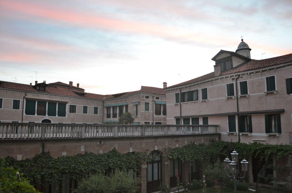 Sunset at Instituto Canossiano San Trovaso (c) A. Harrison
