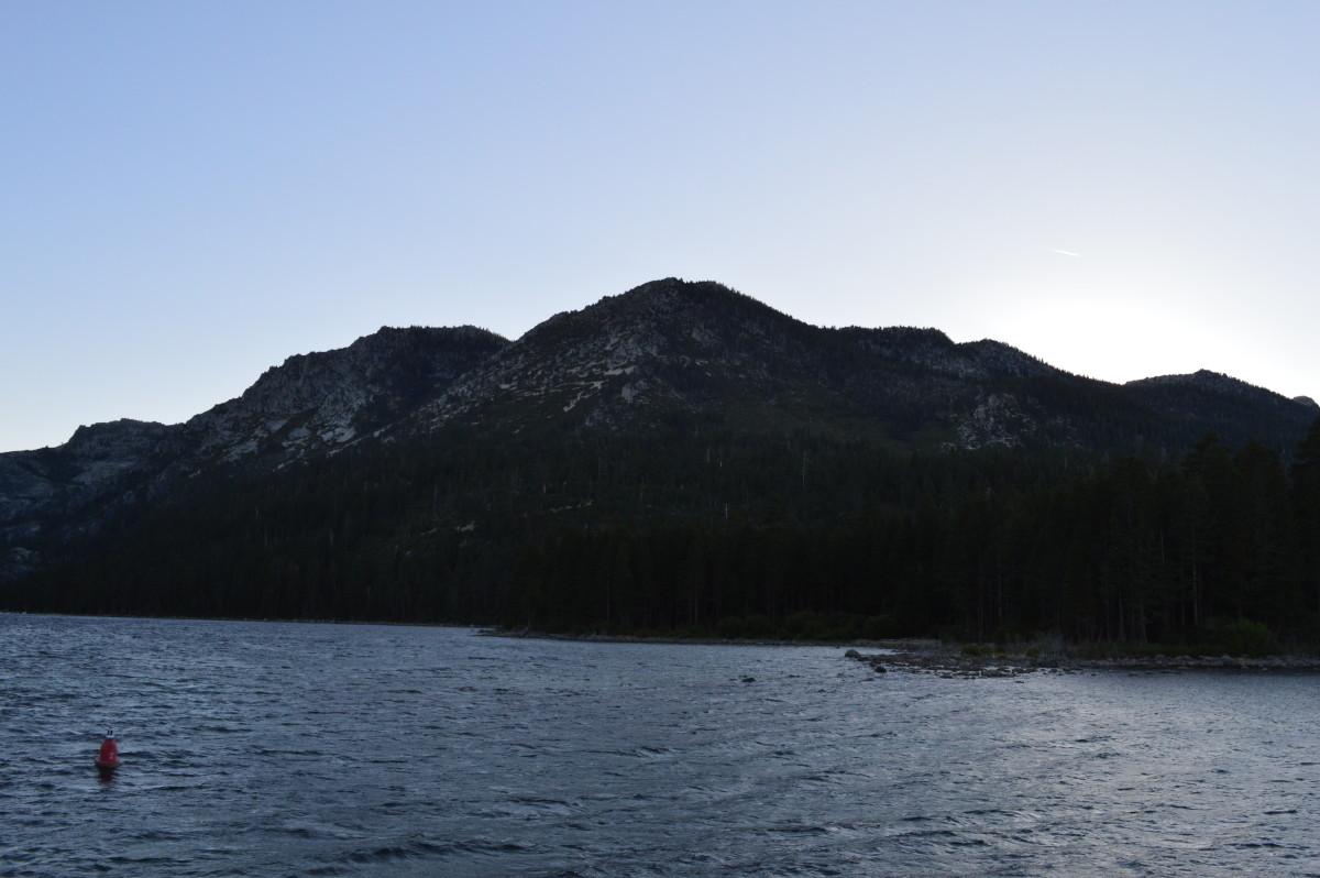 Cruising around Lake Tahoe