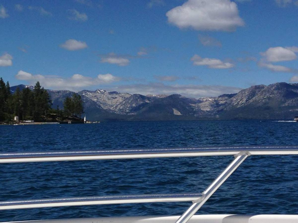 Boating on Lake Tahoe