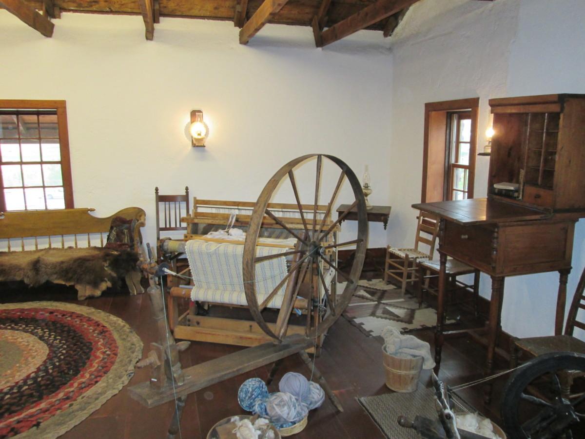 Interior, Jacob Hamblin Home