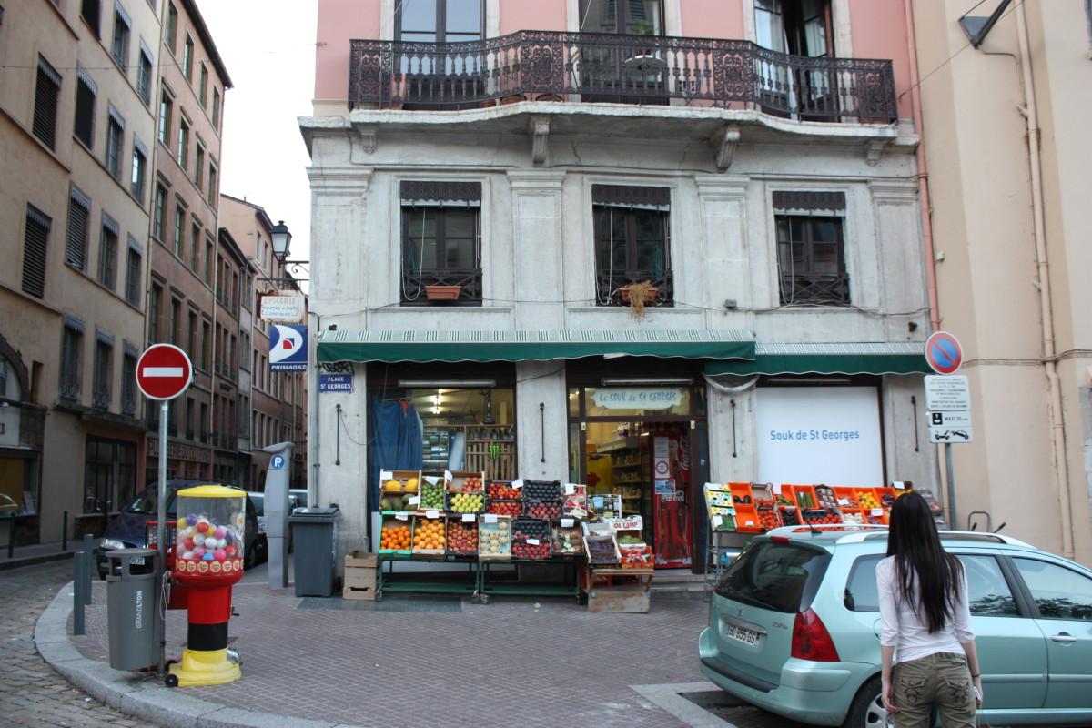 French corner store