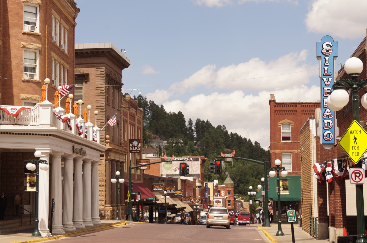 The town of Deadwood, South Dakota. There's such a rich history here and characters like Calamity Jane, Seth Bullock and Wild Bill once lived here.