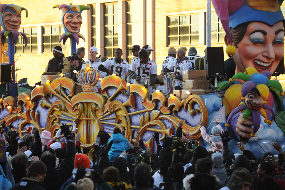 New Orleans Saints Parade