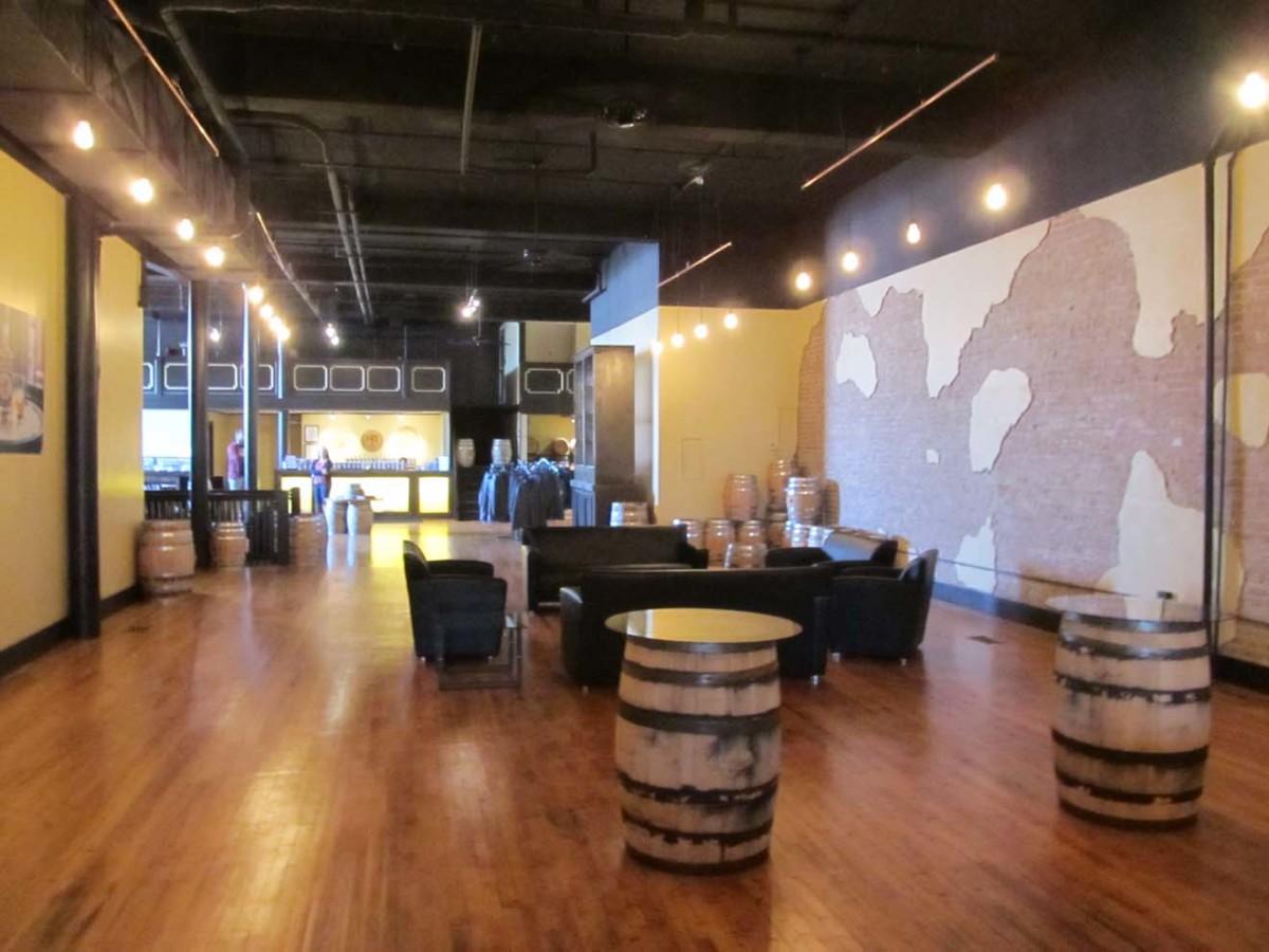 Lobby & Tasting Room, Corsair Distillery, Bowling Green, KY