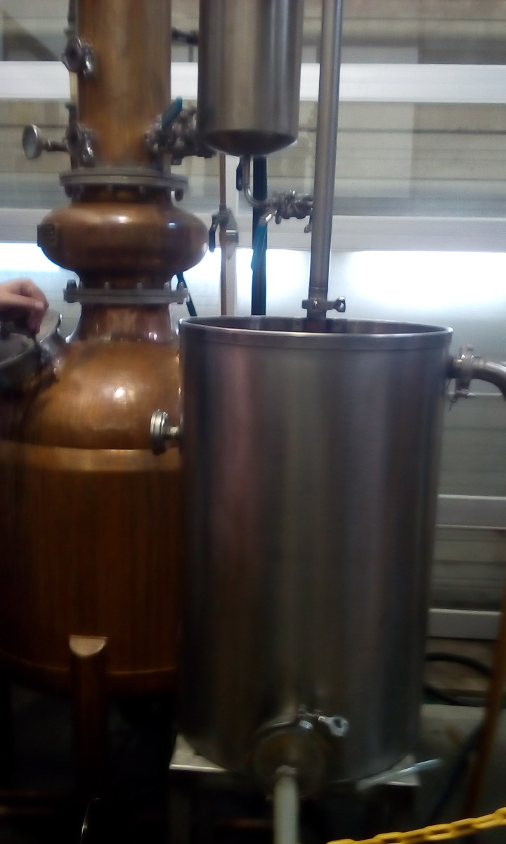 Small Still, Corsair Distillery, Bowling Green, KY