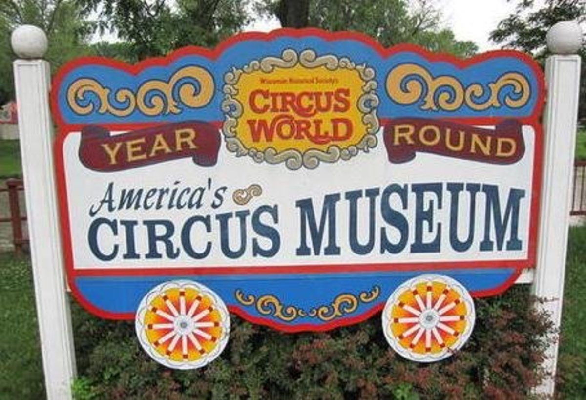 Circus World in Baraboo, Wisconsin
