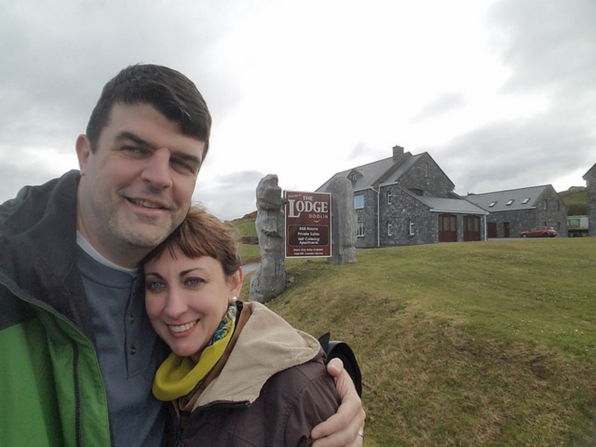 We spent our first night in Doolin, at The Lodge.