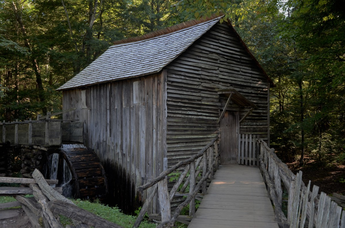 Grist Mill at Cade's Cove