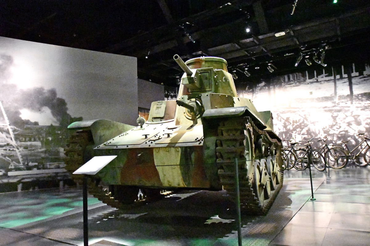 Less than a century ago, these tanks stormed down the Malaya Peninsula to conquer British Singapore.