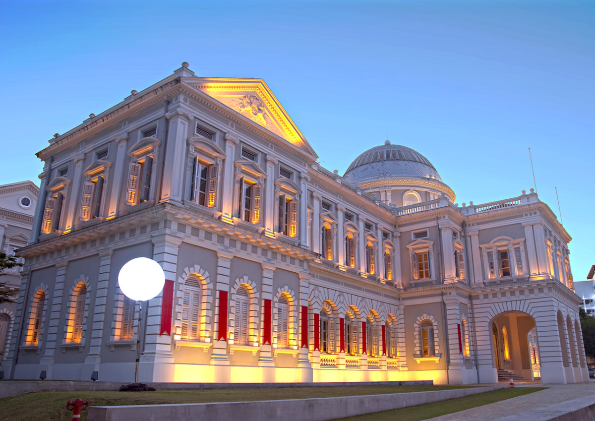 The National Museum of Singapore is the island nation's oldest museum.