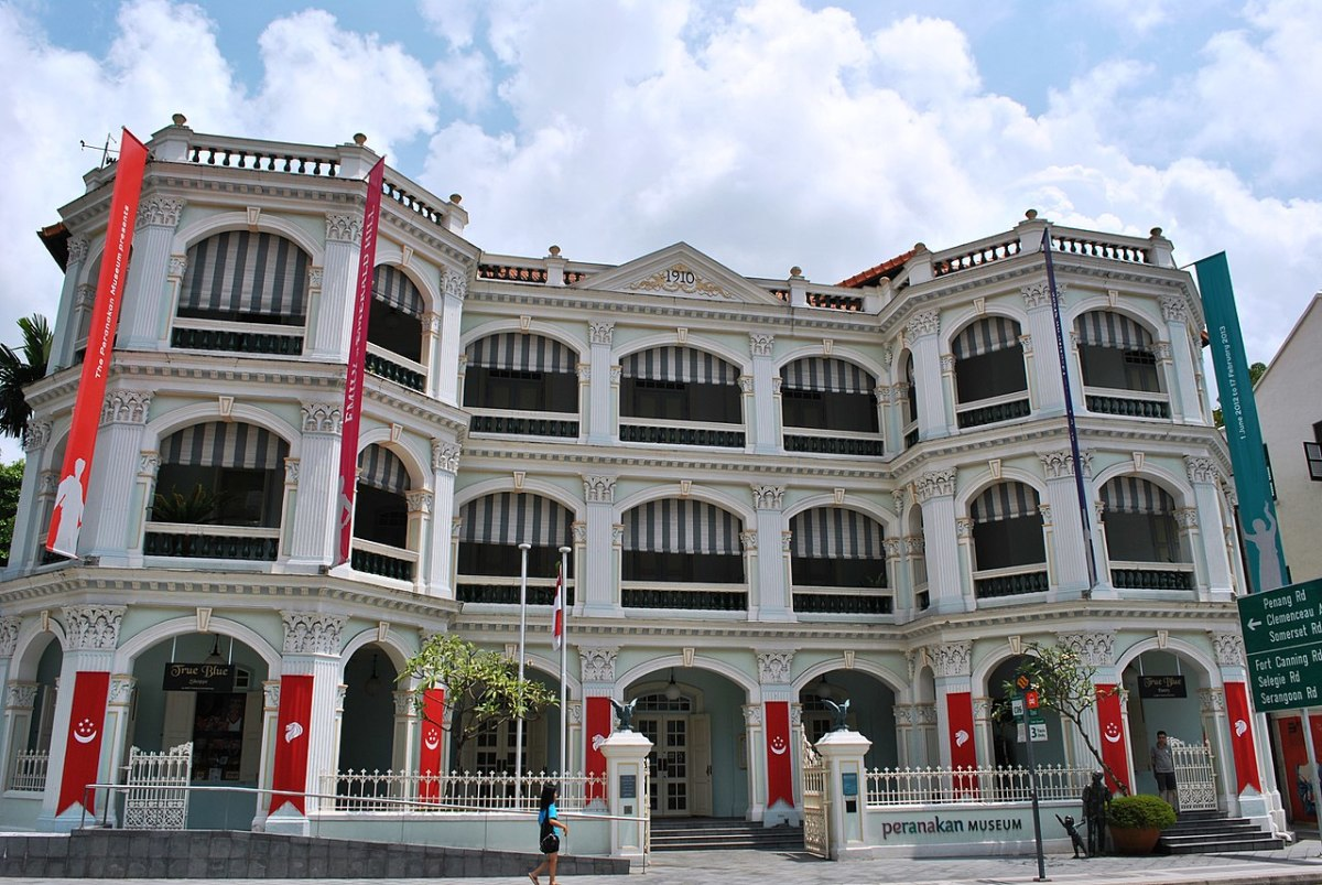 The Peranakan Museum showcases the lives of the Straits Settlement Chinese.
