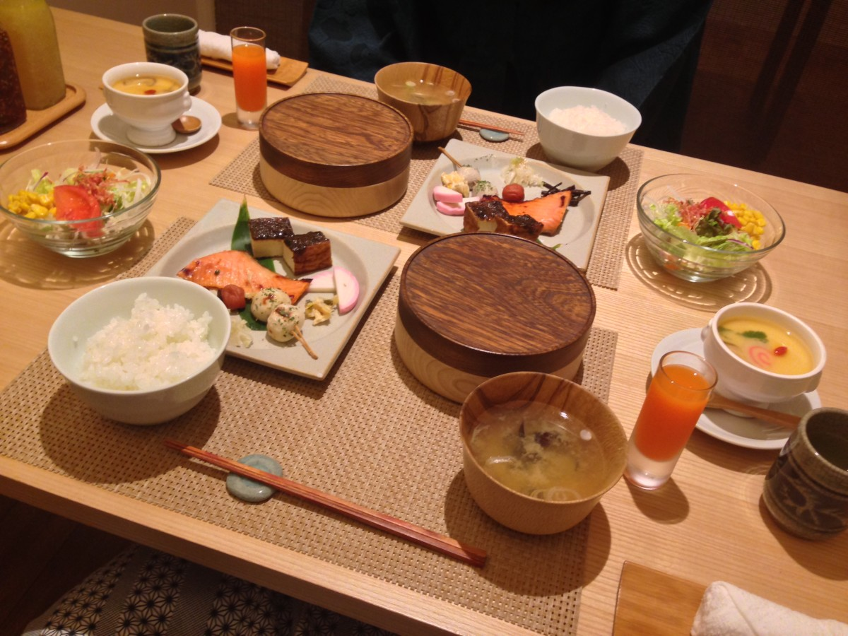 The food in onsen hotels and ryokans is top notch too.