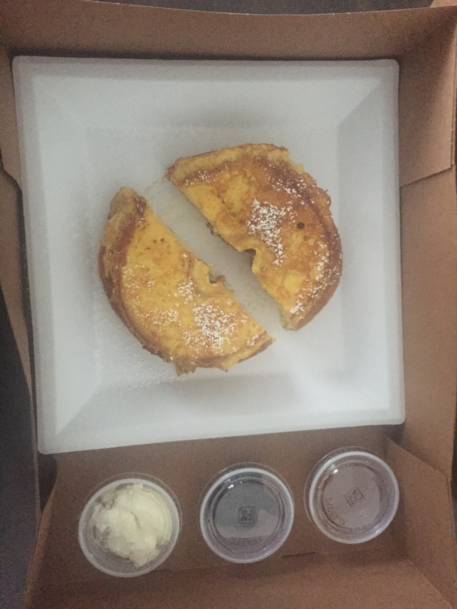 French toast donut from Donut Bar