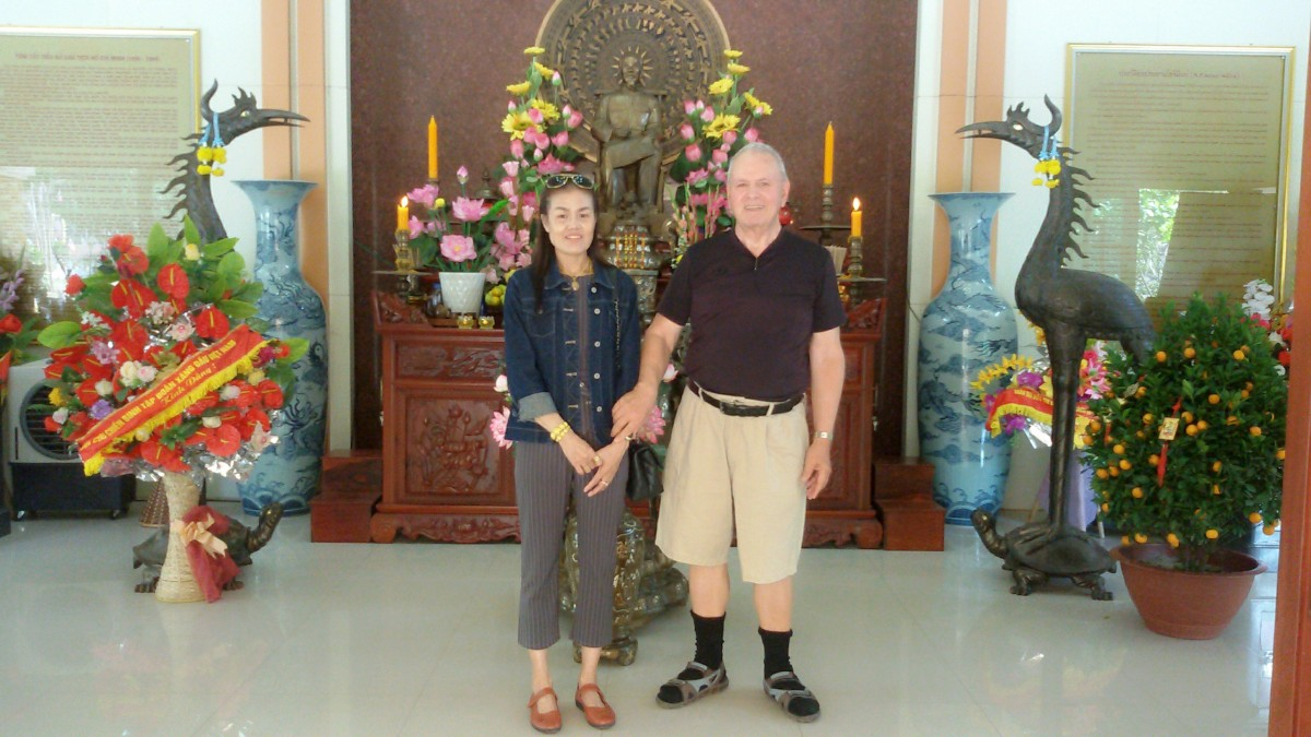 Ho Chi Minh Museum Outside of Udon Thani City.