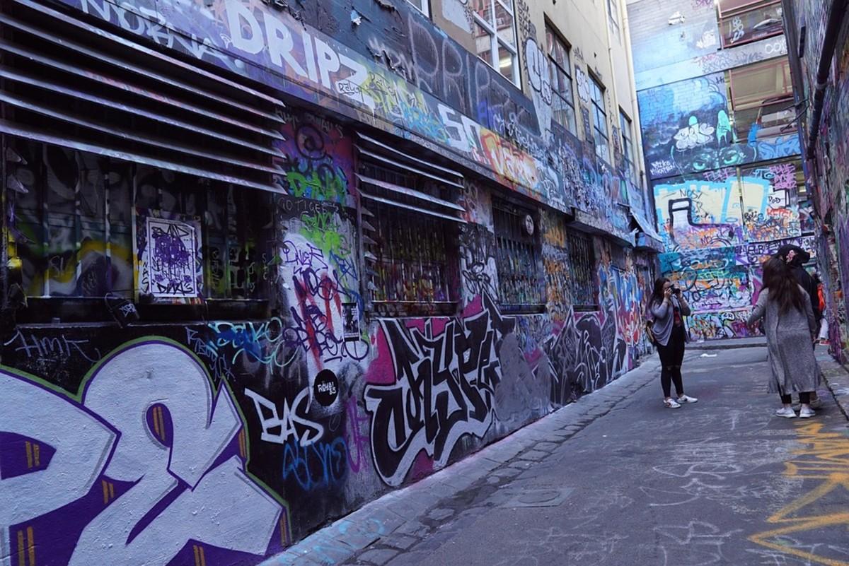 Melbourne has turned its graffiti-strewn walls into a tourist attraction