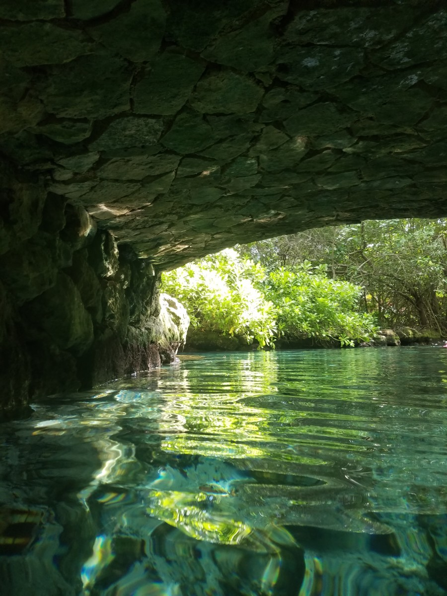 The end of the underground river