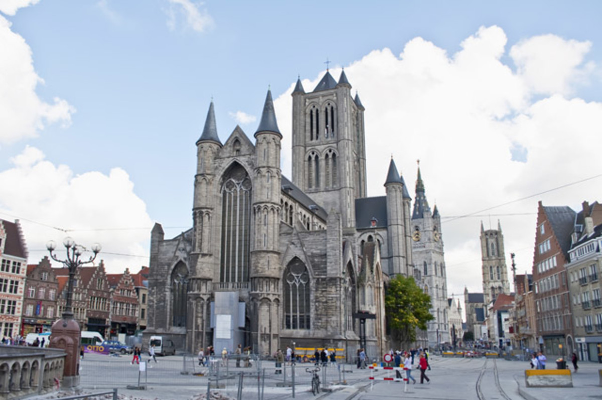 St Bavo Cathedral Ghent