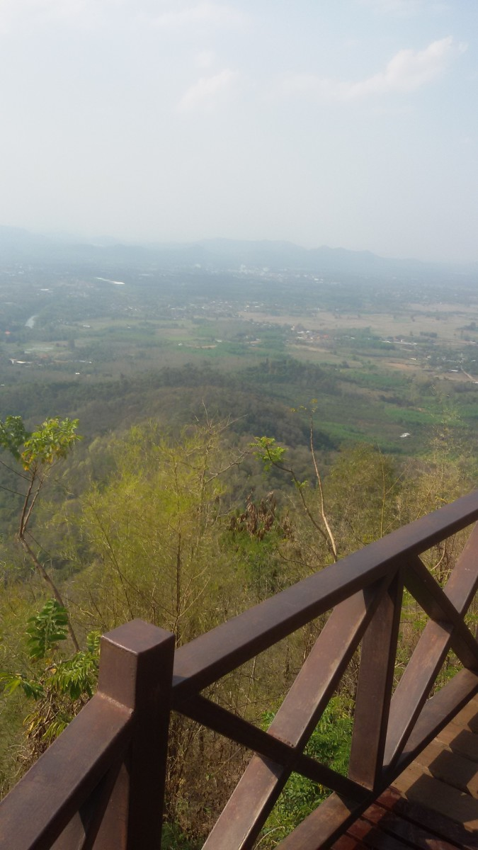 View from the Peak of Phu Bo Bit