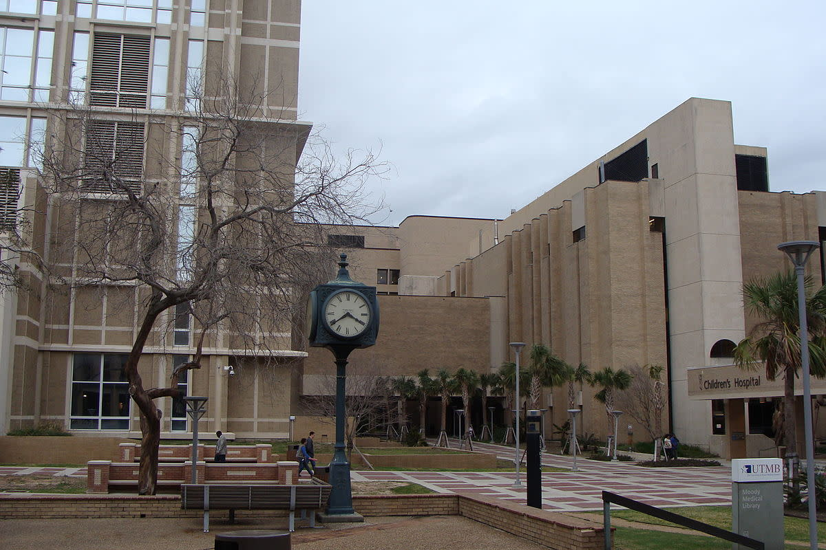Clinical Sciences Building, UTMB, Galveston.