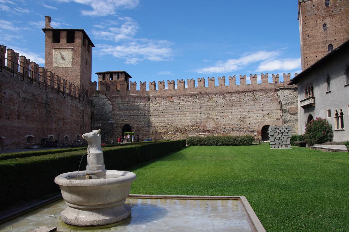 Inside Verona's Castelvecchio