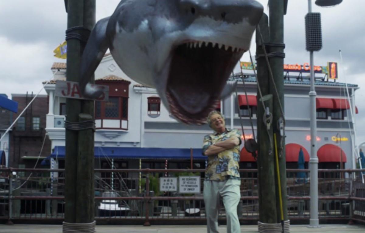 Bruce's closeup in Sharknado 3.