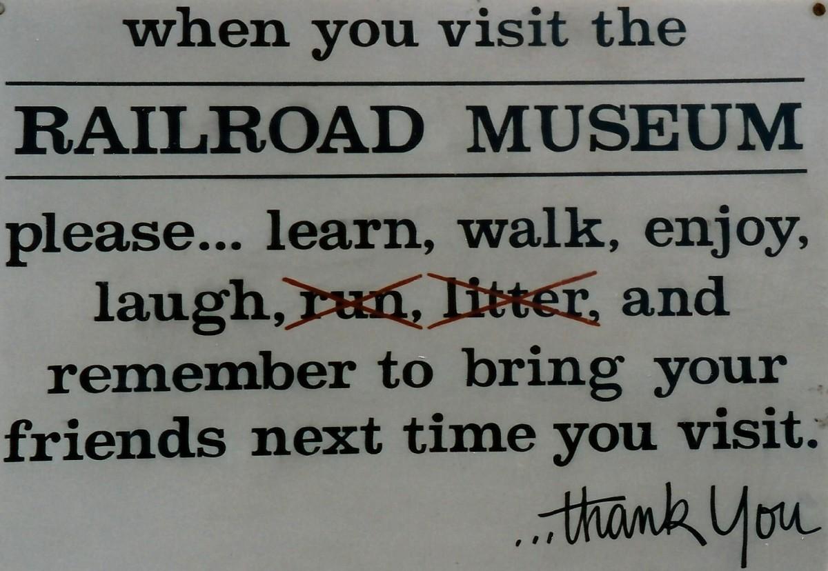 Railroad Museum in Galveston