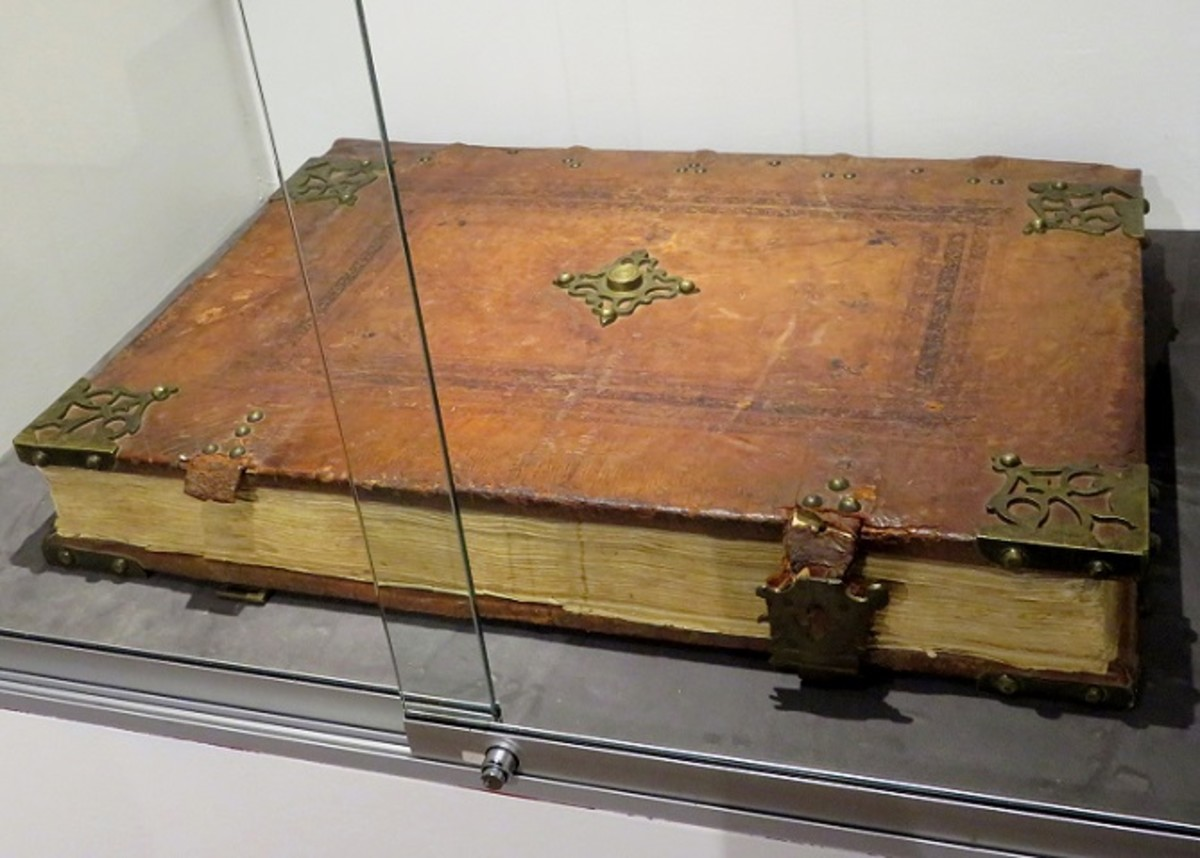 Gregorian Chant Book 16th Century C.E. The fragile-nature-of-this-volume does not allow for open display in this space