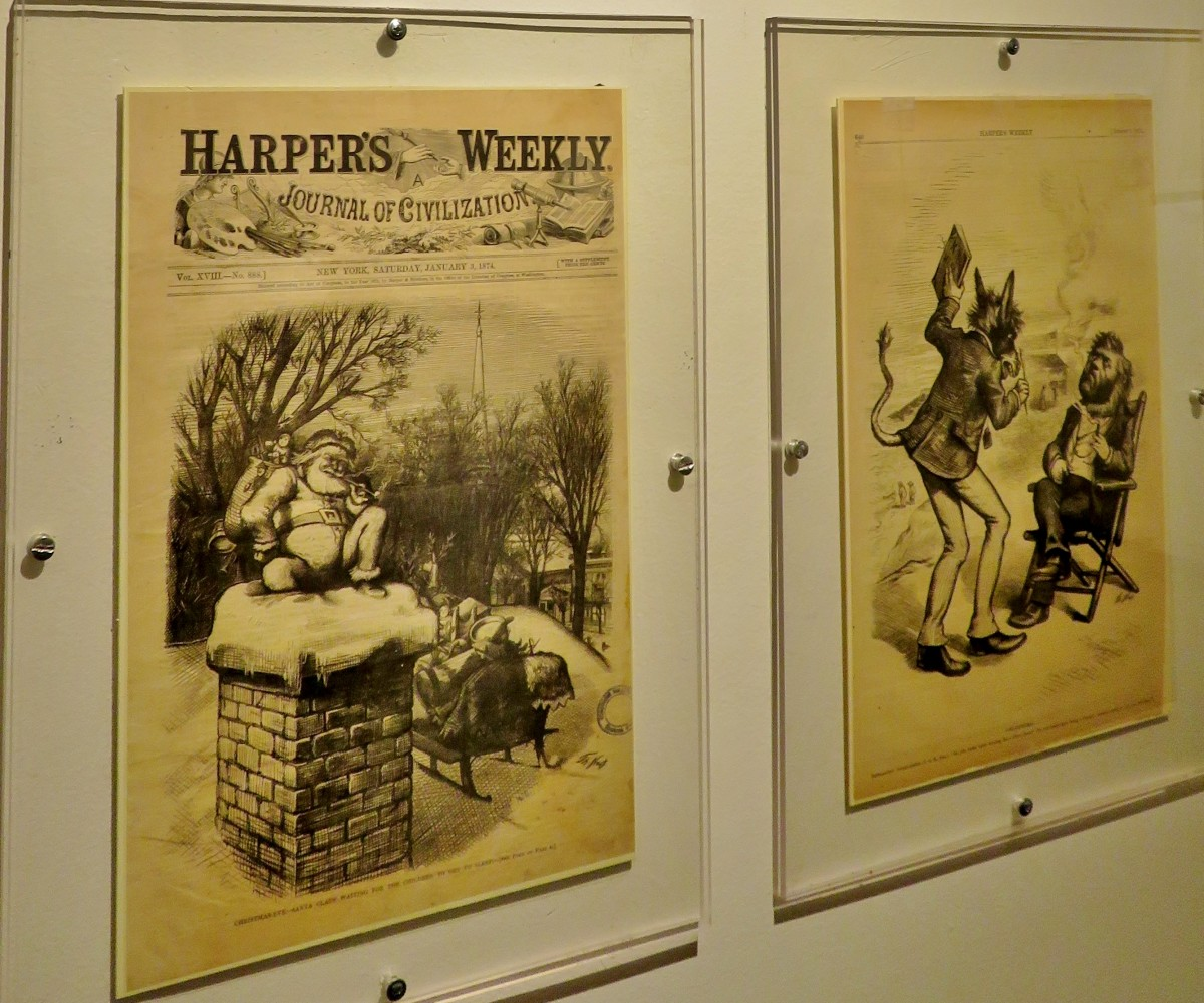 Harper's Weekly with Thomas Nast illustrations
