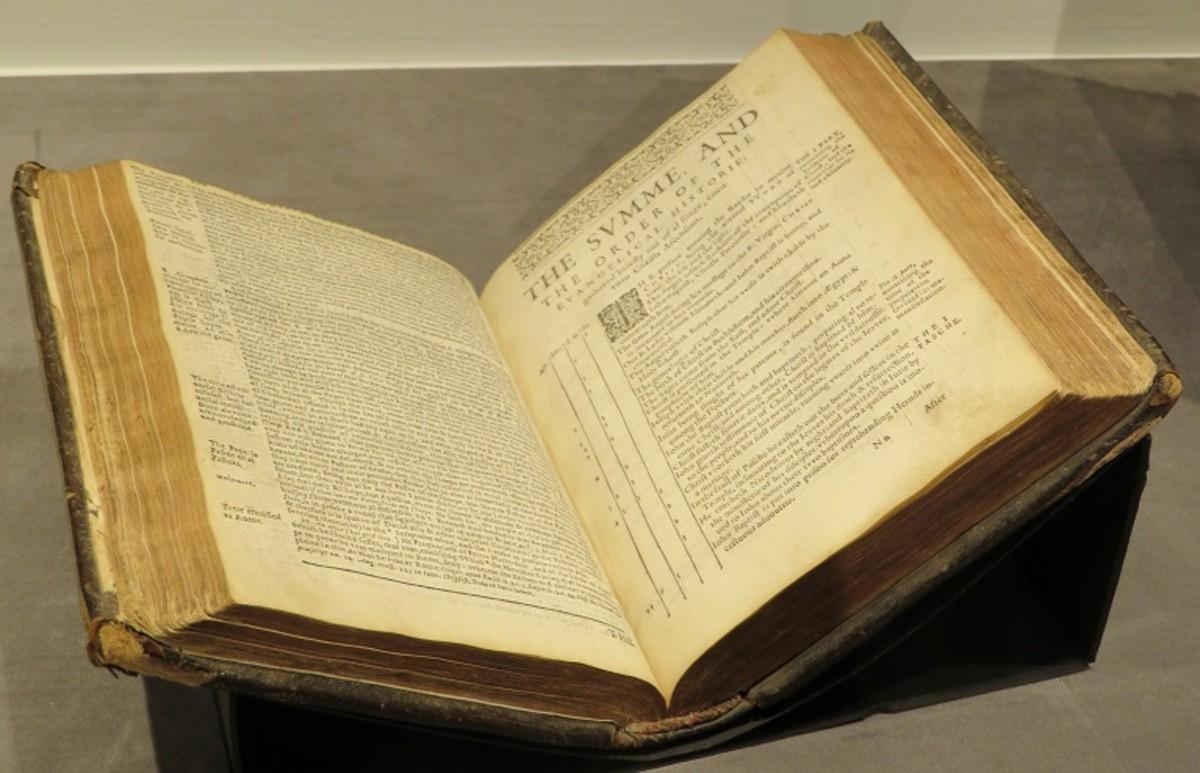 The Rheims Bible 1582, Rheims, France Jean Fogny printer (French, 1535-1586)