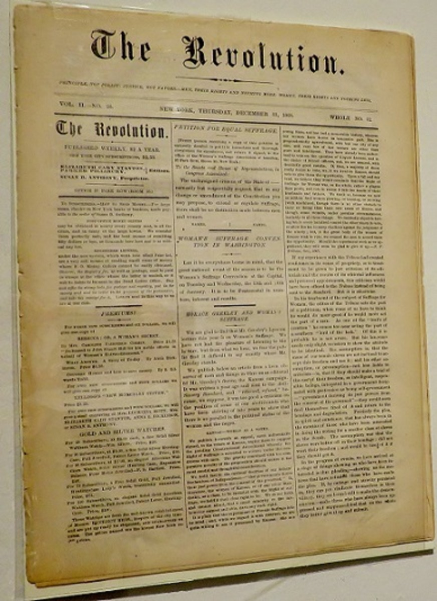 The Revolution newspaper, December 31, 1868