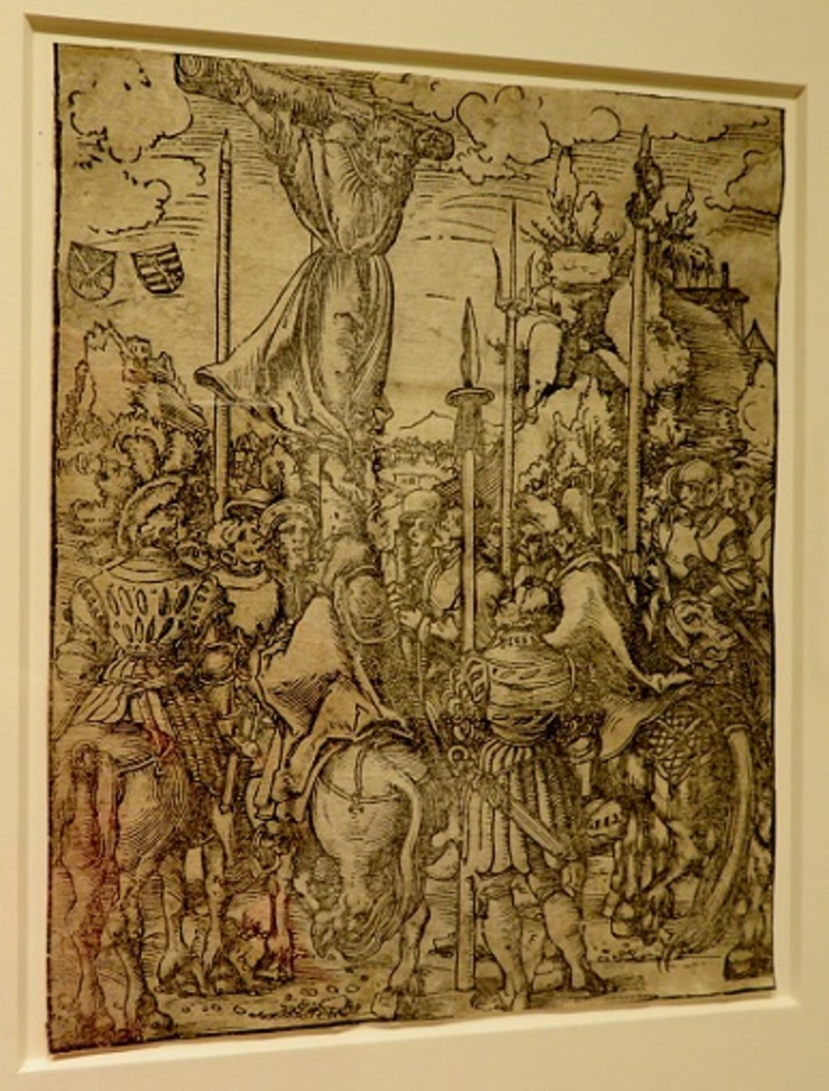 Martyrdom of Saint Philip c.1512 Lucas Cranach the Elder (German, Kronach 1472-1553 Weimar) Woodcut