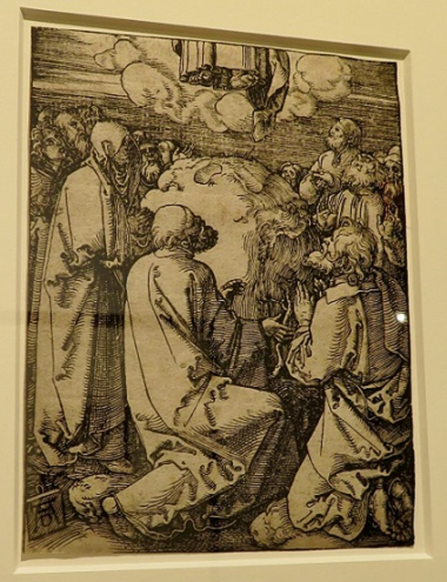 The Ascension, from The Little Passion c.1510 Albrecht Durer (German, Nuremburg 1471-1528) Woodcut