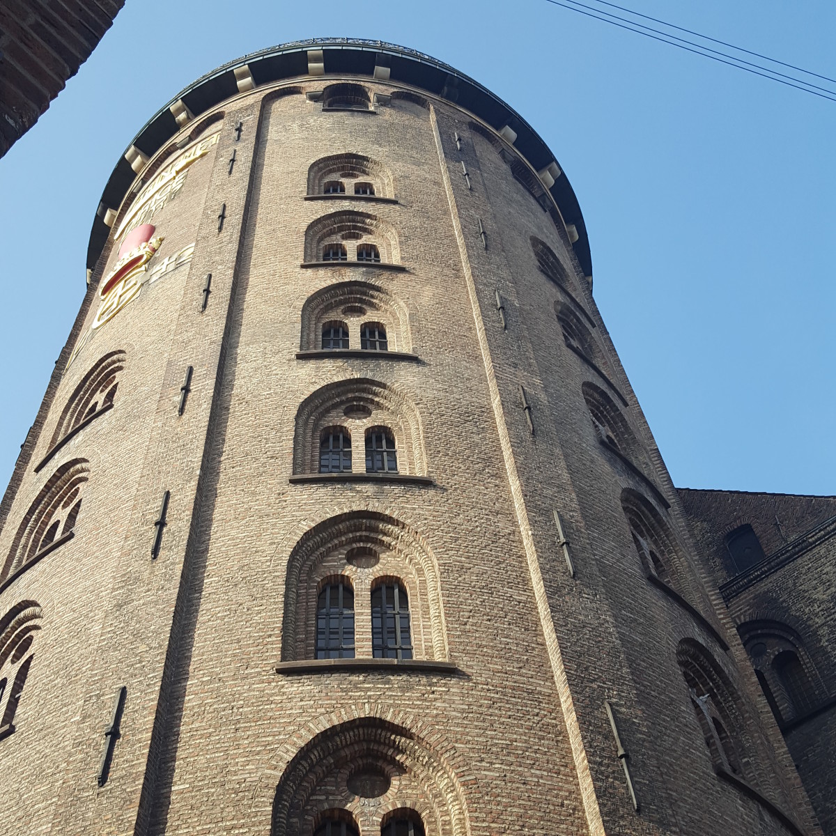 Climb to the top of the Round Tower to see views over the city.