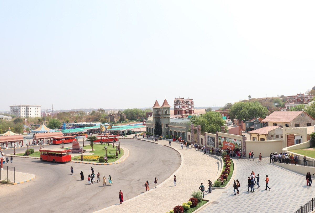 Inside Ramoji Film City