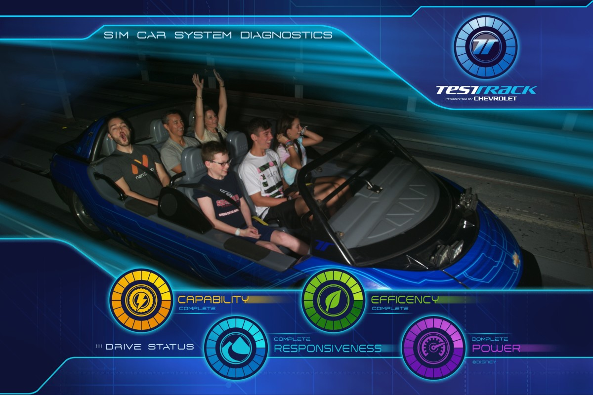 Having children old enough to use the single rider line allows your family to experience favorite attractions without a wait. My 12 year old son was able to ride Test Track repeatedly without any wait by using this line.