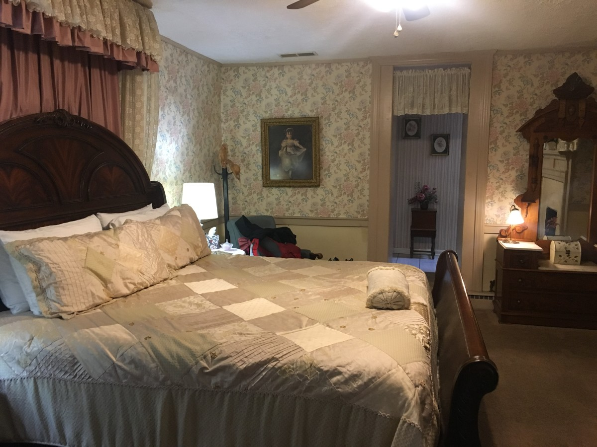 Our room at the Jailer's Inn