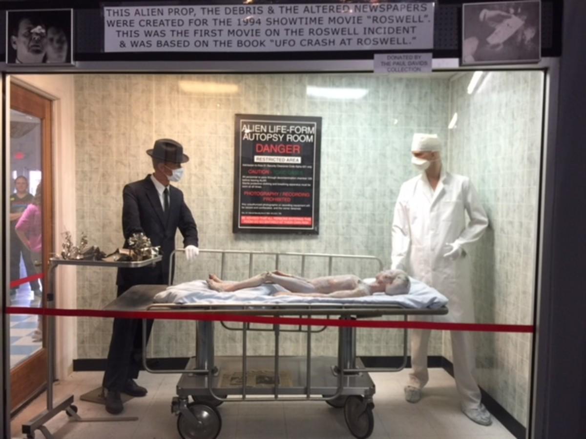 View an alien autopsy
