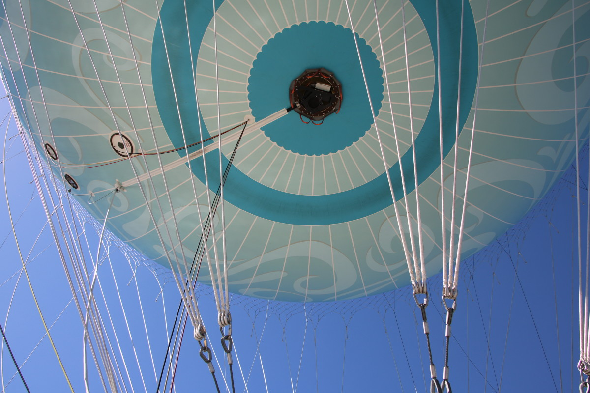 Take flight in a giant helium balloon at Disney Springs. Our boys loved this adventure!
