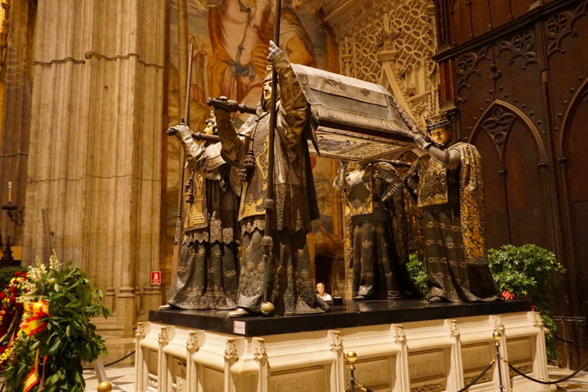 Tomb of Christopher Columbus.
