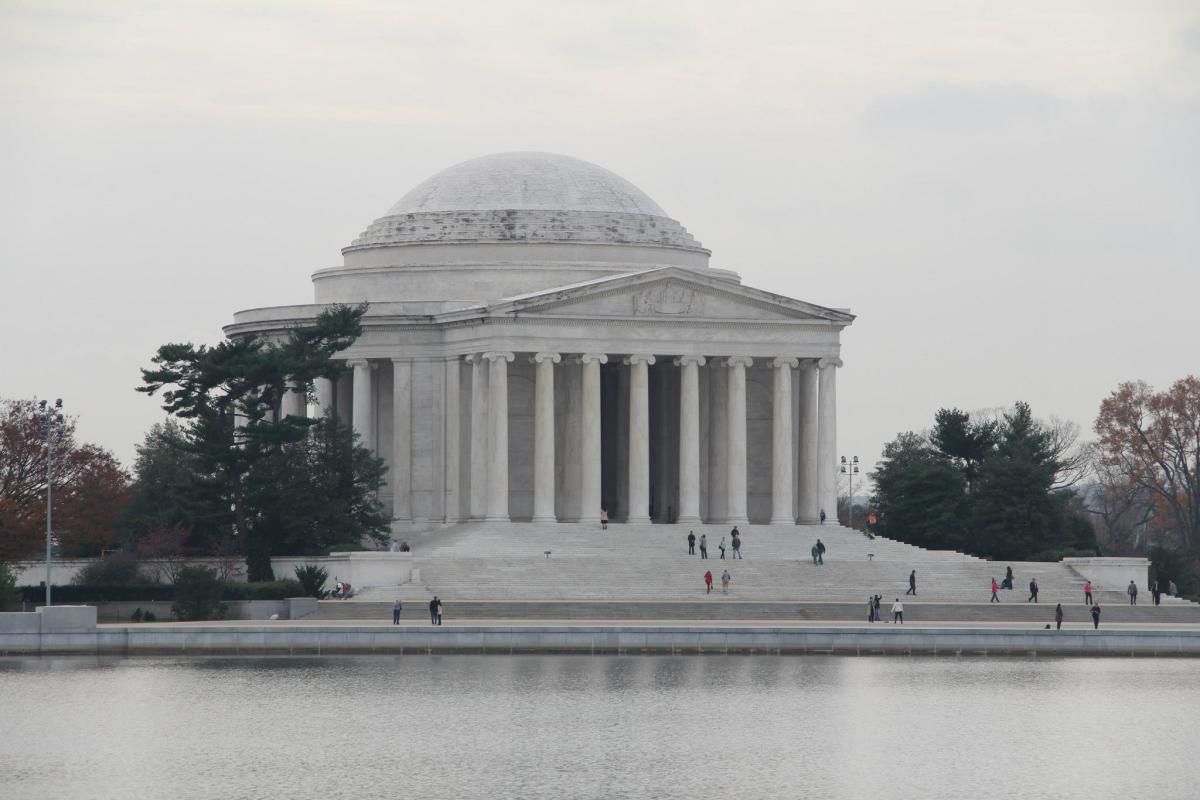 Jefferson Memorial, 2012