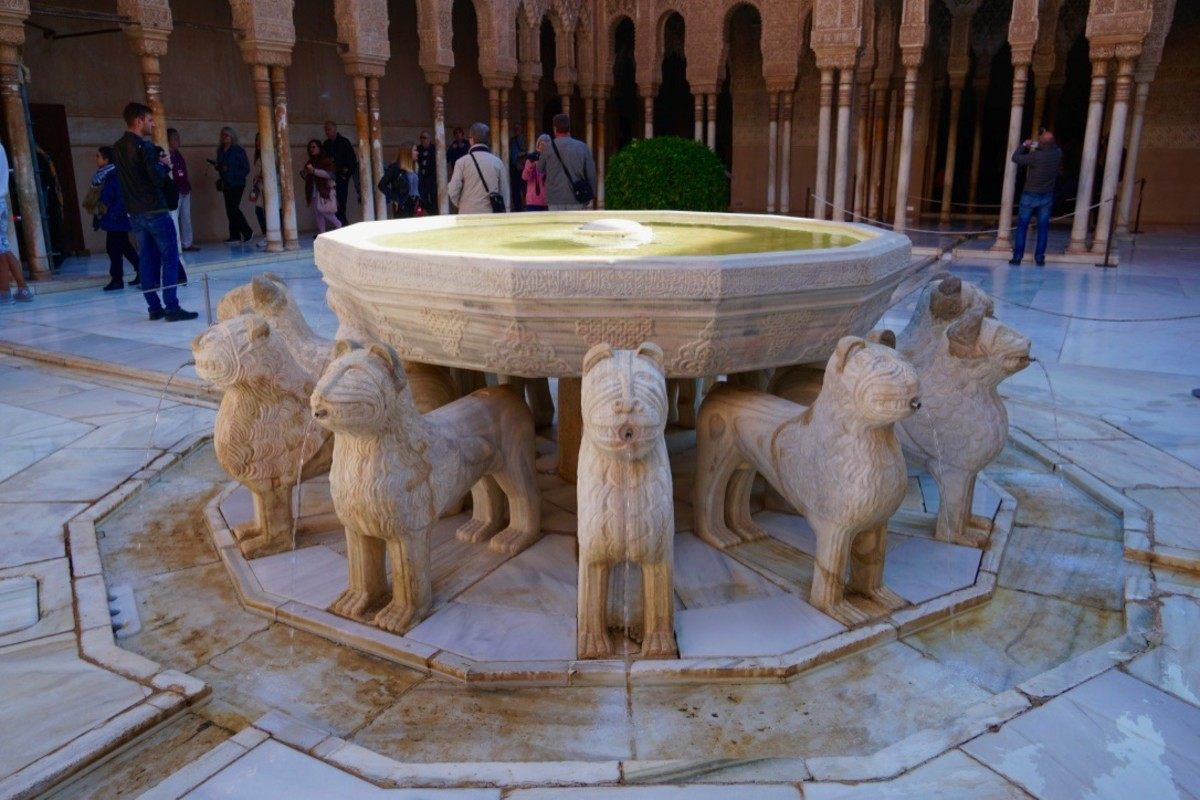 Court of the Lions.