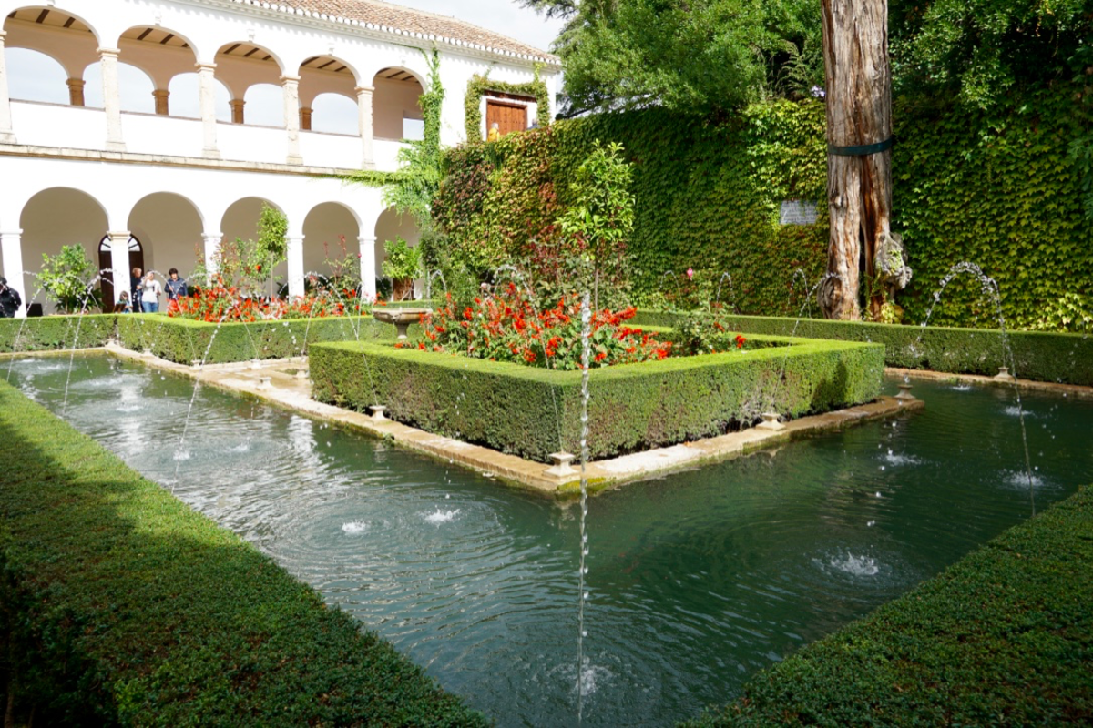 Gardens of the Generalife.