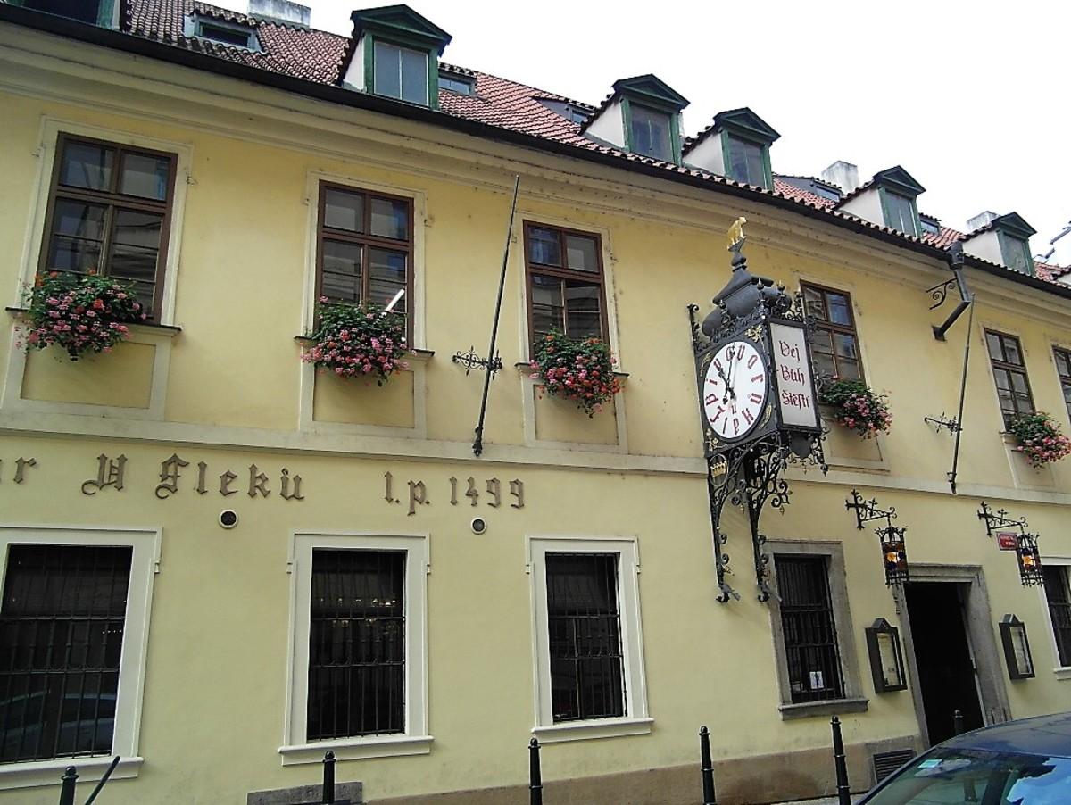 U Flecku, Prague.
