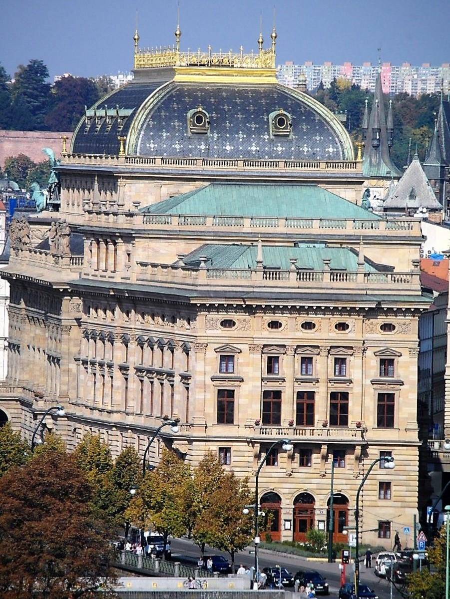 The National Theatre, Prague.