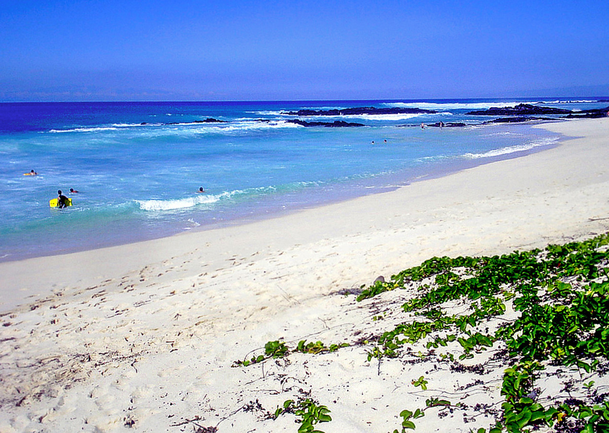 Located inside Kehaka Kai State Park, Makalawena Beach is never crowded.