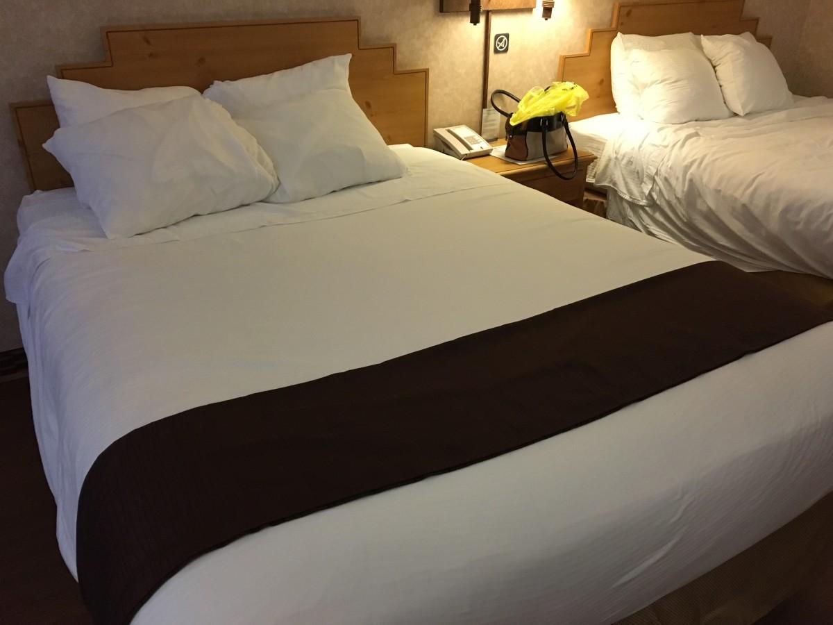 Comfy beds, too!
